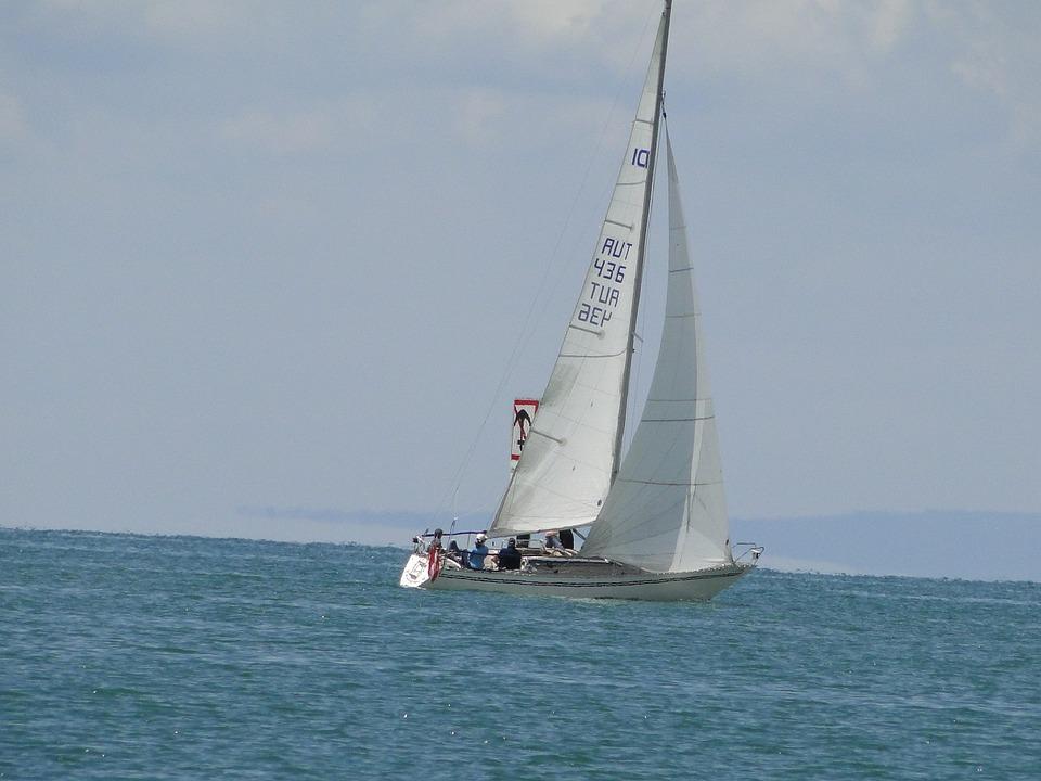 Sailing Boat, Lake Constance, Sail
