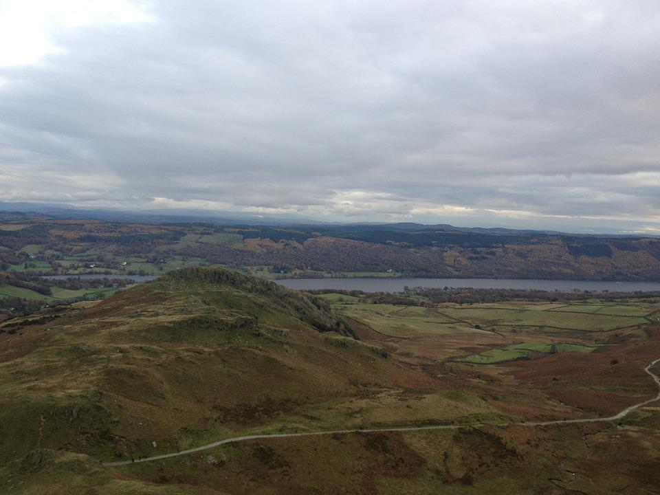 Lake District, Hike, Landscape, Hiking, Trail