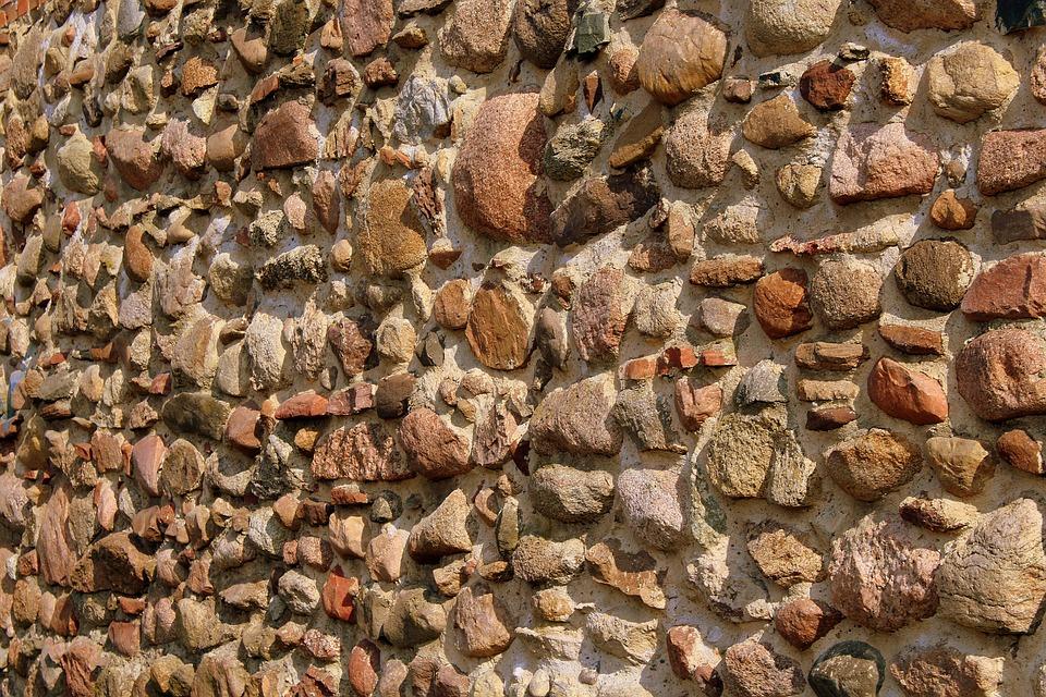 The Stones, Lake Dusia, Stone Wall, Texture