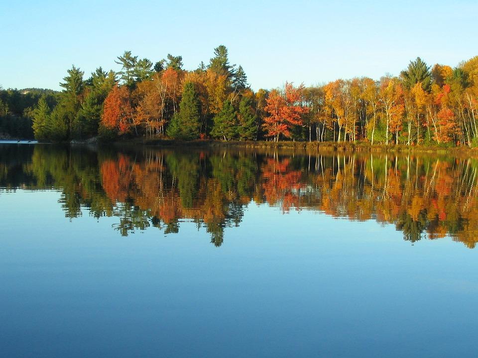 Lake, Fall, Colours, Reflection, Autumn, Foliage