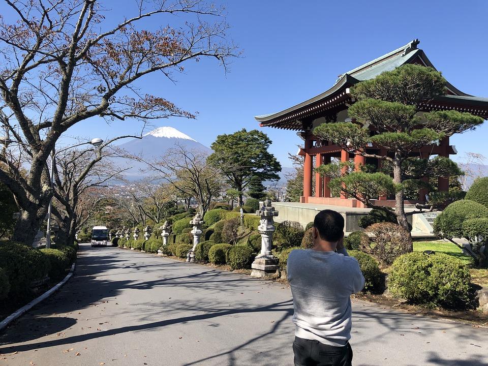 Japan, Fuji Mountain, Autumn, Scenic, Mount, Lake