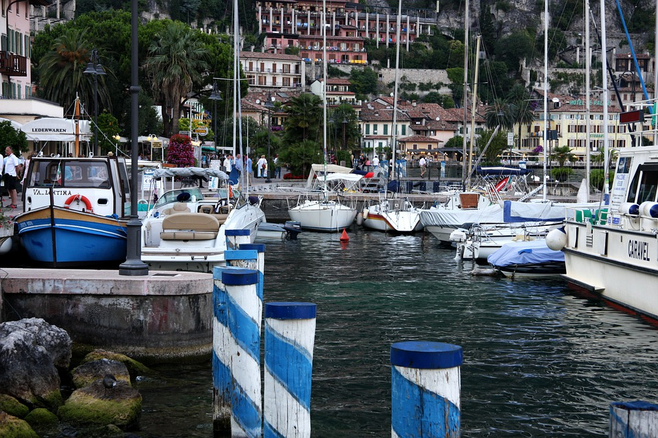 Limone Sul Garde, Port, Lake Garda, Holiday, Water