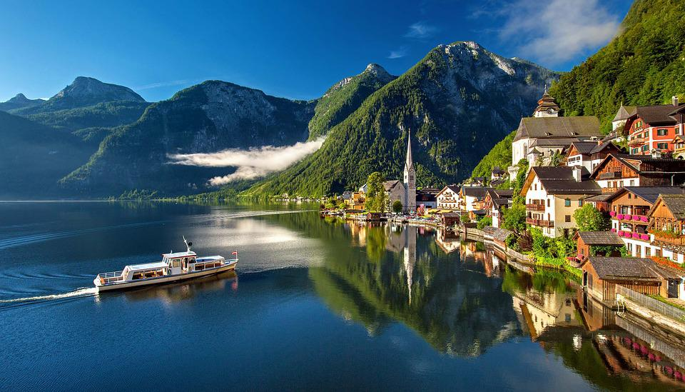 Hallstatt, Austria, Bergsee, Lake, Alpine, Summer