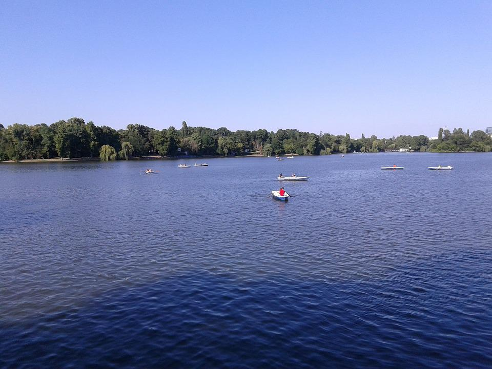 Lake, Herastrau, Bucharest