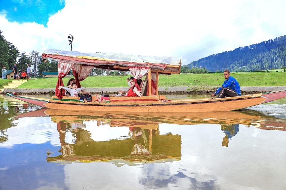 Picknicspot, Houseboat, India, Boat, Lake