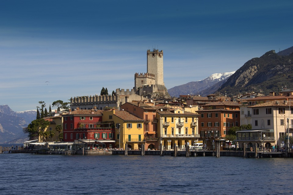 Malcesine, Italy, Garda, Vacations, Water, Lake