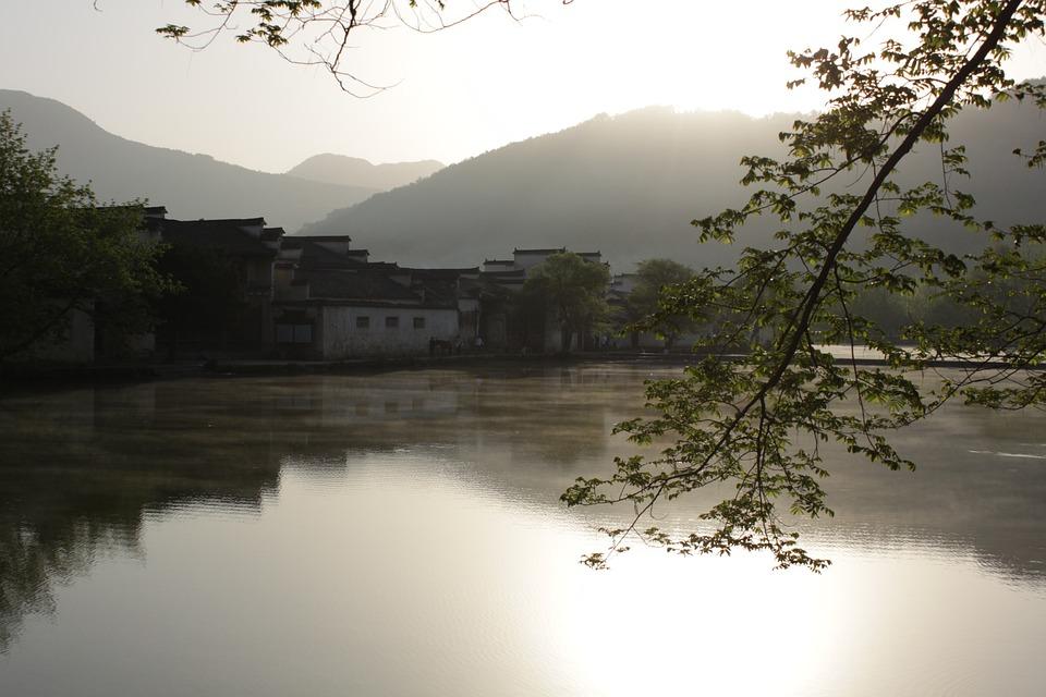 The Ancient Town, Lake, Jiangnan