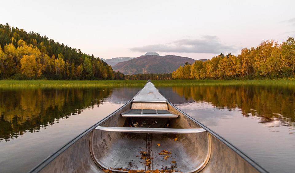 Lake, Canoe, Kayak, Canoeing, Kayaking, Summer, Water