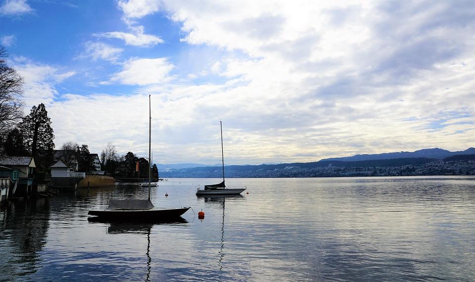 Küsnacht, Switzerland, Lake, Nature, Zurich, Canton