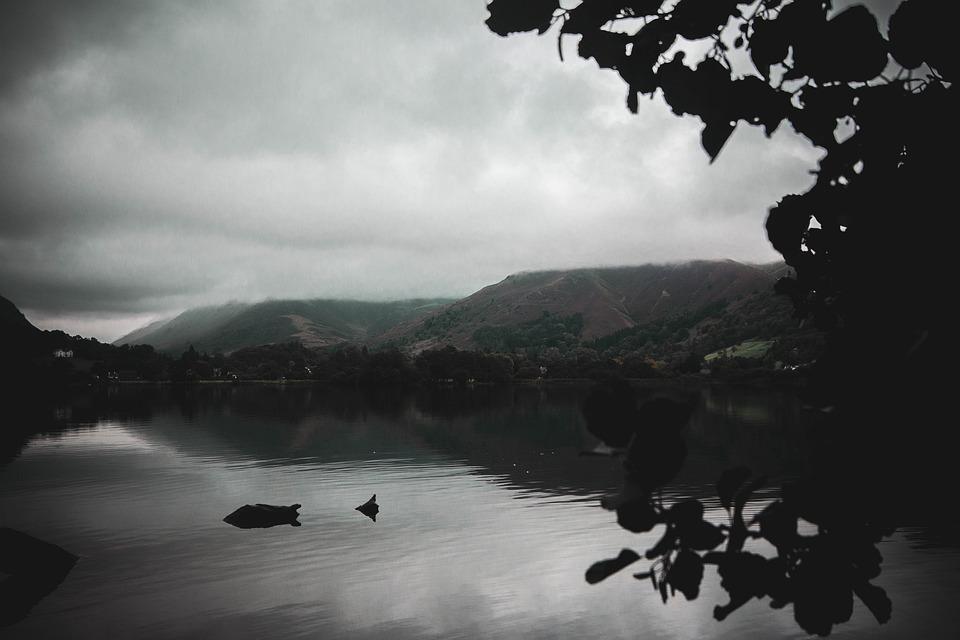 Nature, Lake District, Lake, Water, Lakes, River