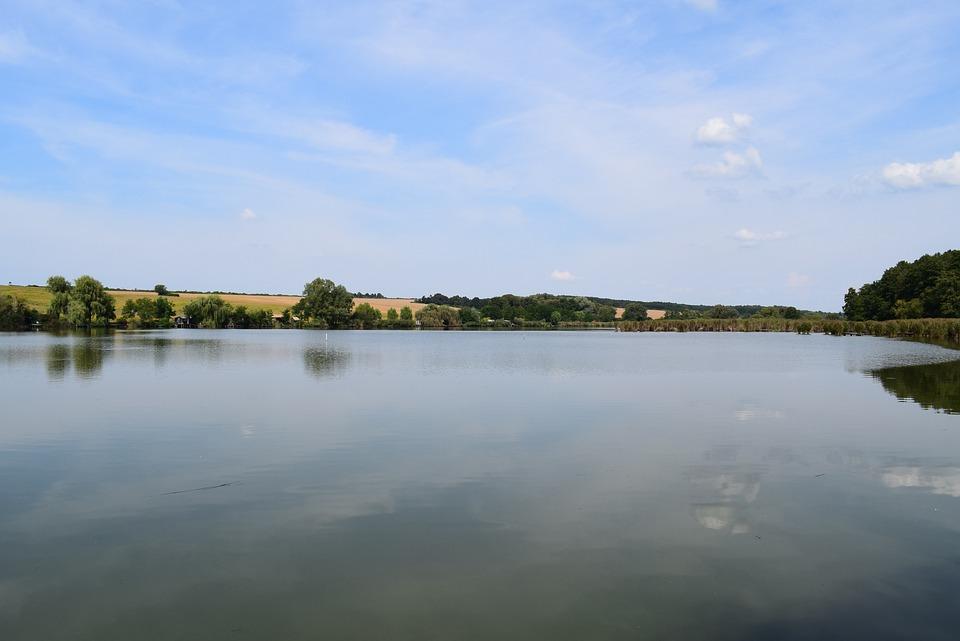 Lake, Blue, Green, Nature, Water, Landscape