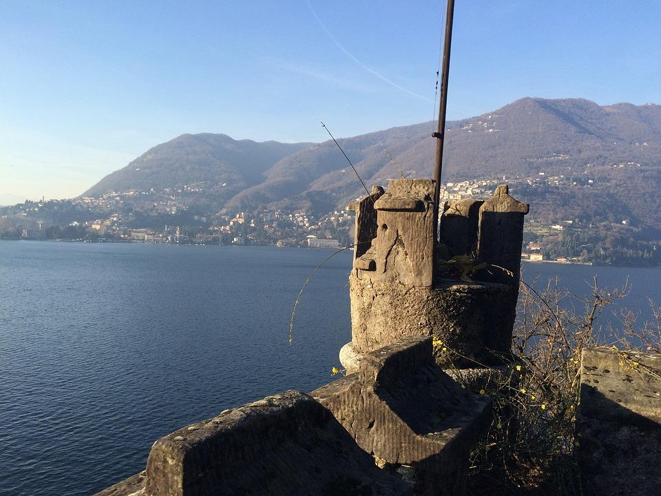 Lake, Winter, Nature, Landscape, Lake Como