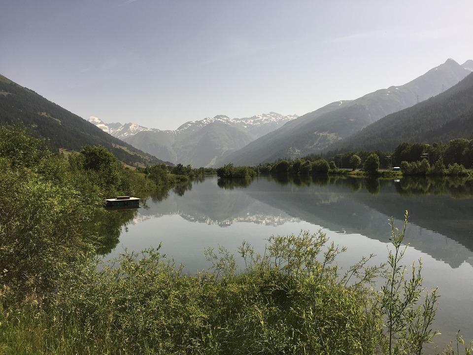 Mountains, Lake, Mirror, Landscape