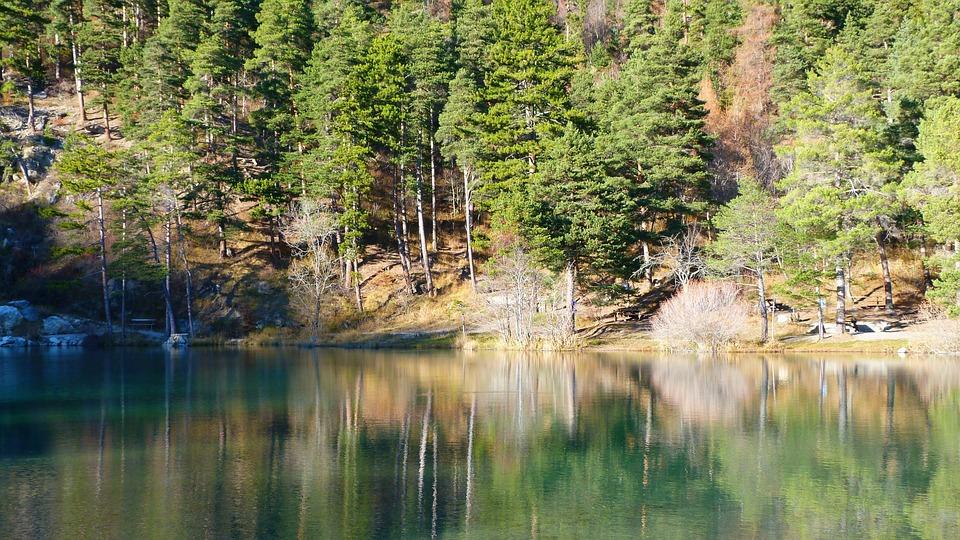 Lake, Landscape, Nature, Reflection, Water, Tree, Fall