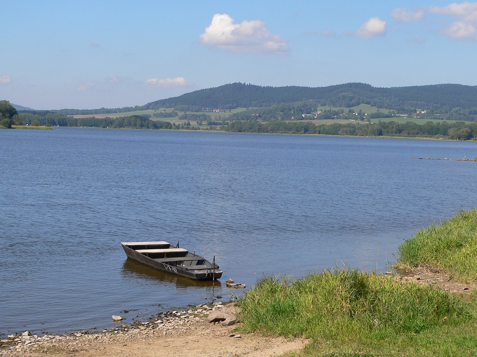 Lipno Lake, Water, Lake, Landscape, Natural Water, Rest