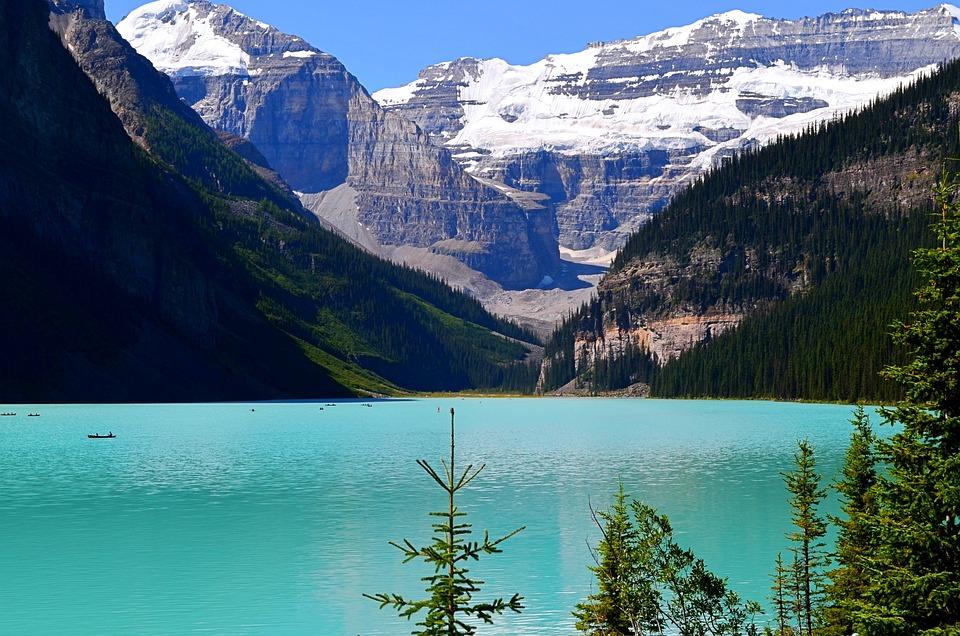 Lake Louise, Lake, Mountains, Water, Turquoise Lake