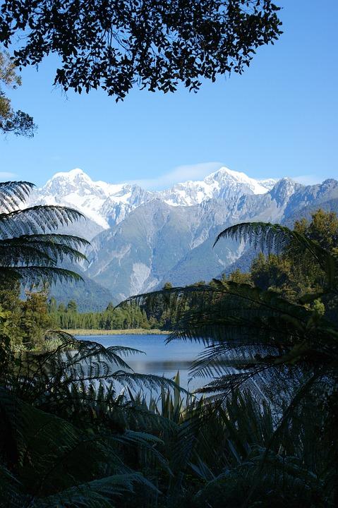 Jetty Viewpoint, Lake Matheson, New Zealand