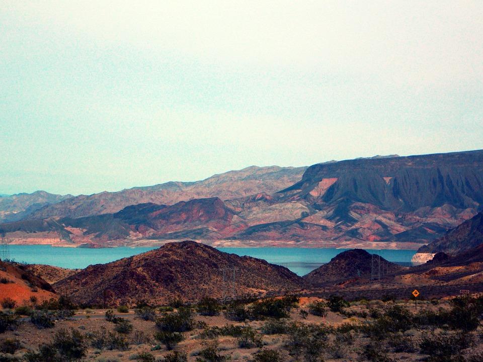 Mountains, Canyon, Arizona, Rocks, Lake Mead, Nevada