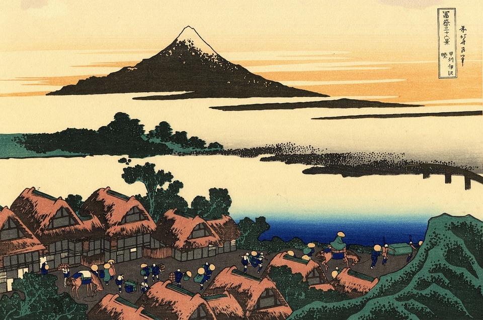Mount Fuji, Japan, Sunset, Sunrise, Lake, Volcano
