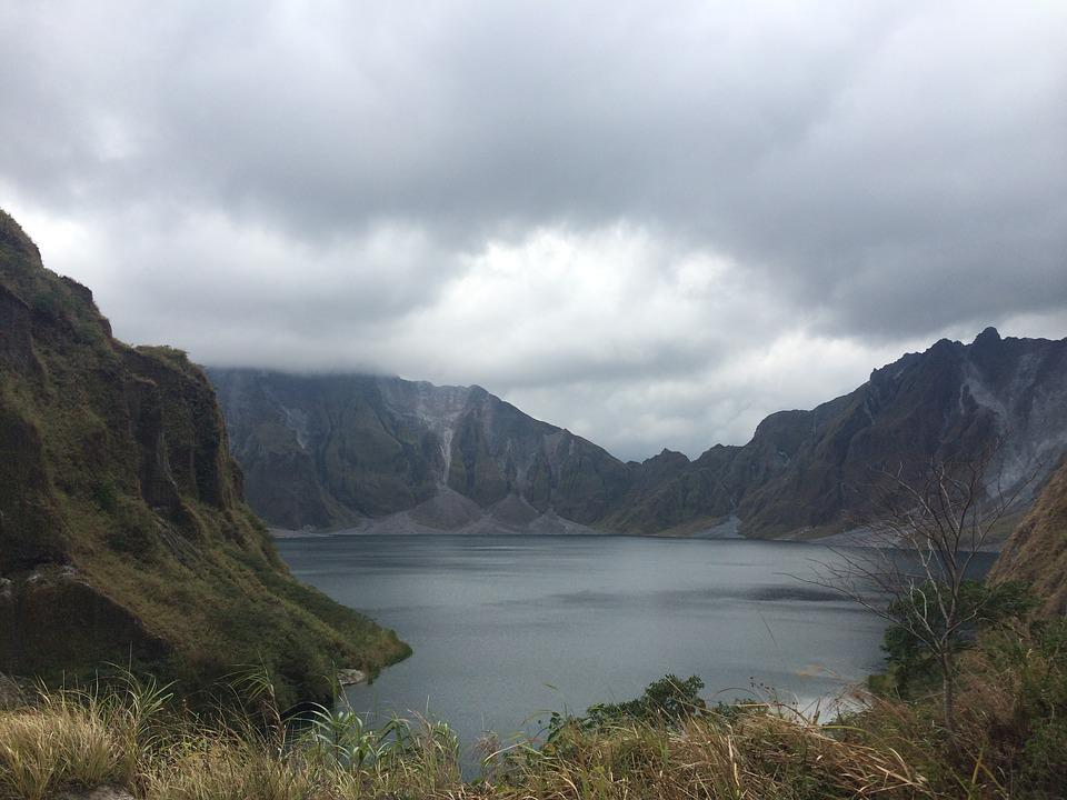 Philippines, Crater, Scenery, Mountain, Luzon, Lake