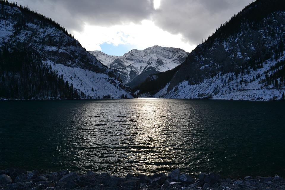 Mountain, Lake, Landscape, Water, Scenic, Canada