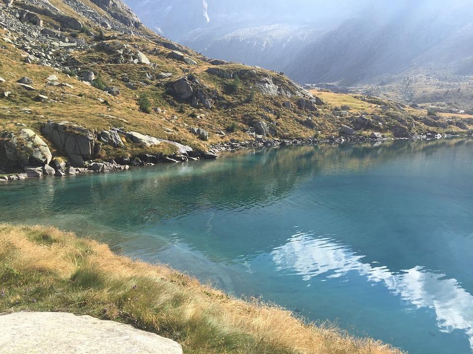 Lake, Mountains, Dolomites