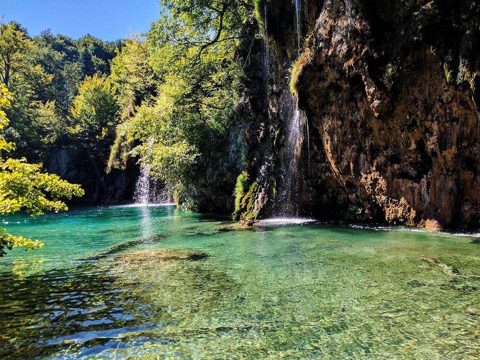 Croatia, Waterfall, National Park, Lake, Nature, Water
