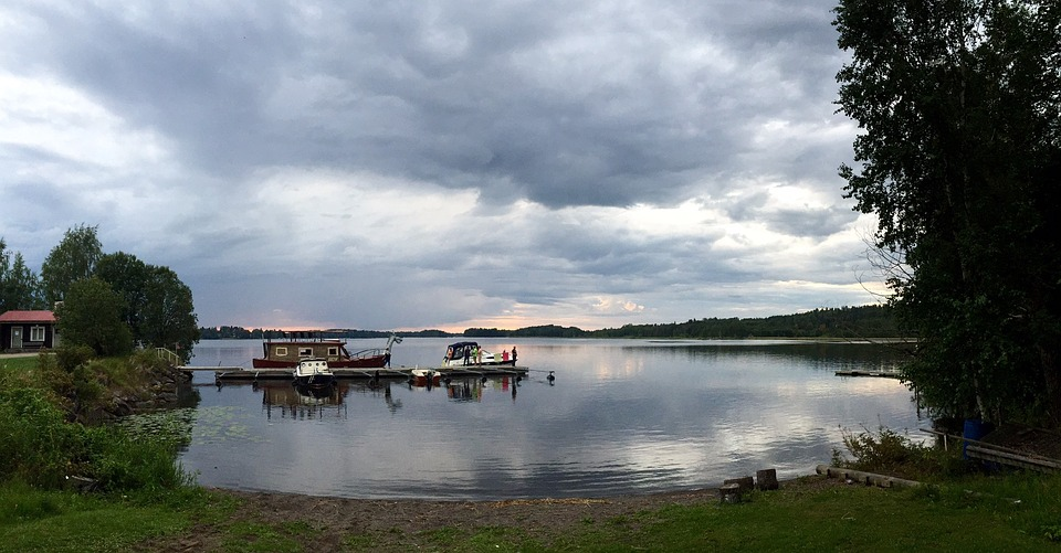 Nature, Lake, Finland