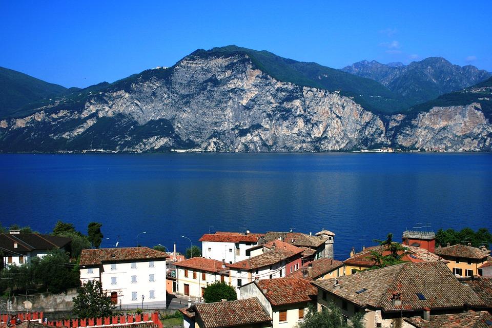 Cassone, Italy, Garda, Lake, Nature, Water, Landscape