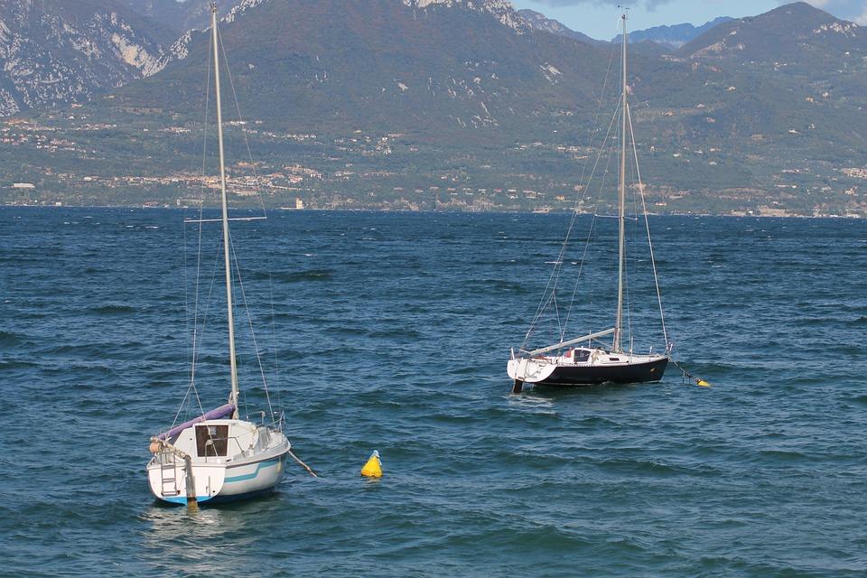 Vacations, Summer, Nature, Sailing Boat, Water, Lake