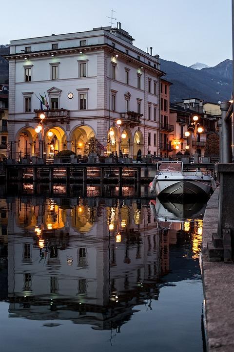 Omegna, Lake, Lake Orta, Cusio, Italy