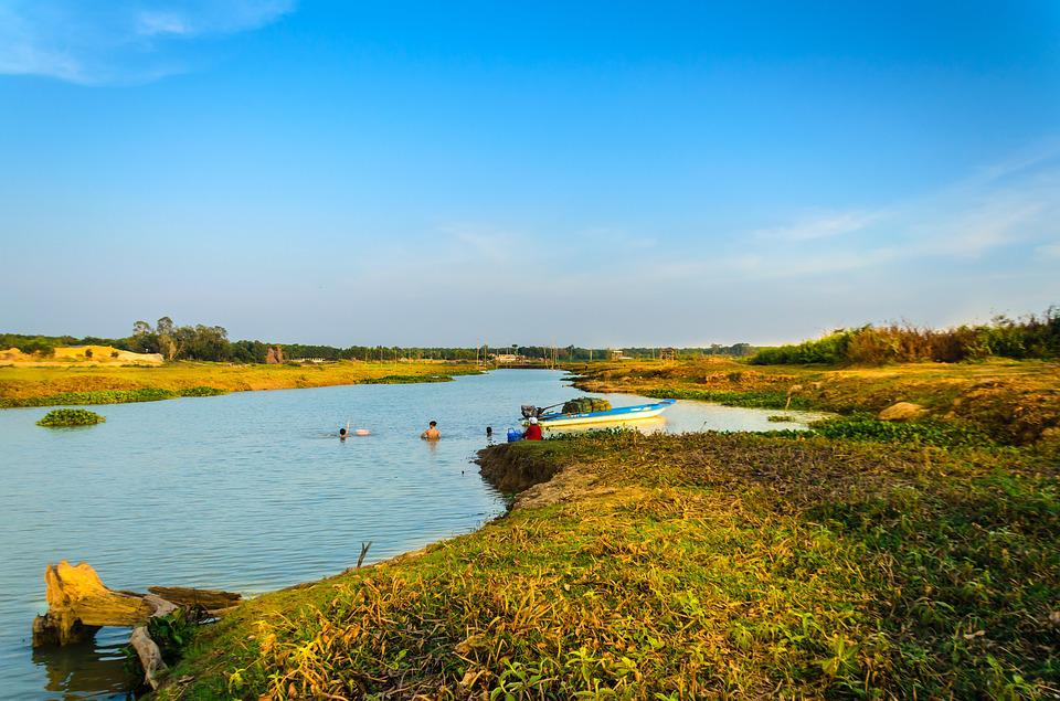 Lake, The Countryside, Outdoors, The Grassland