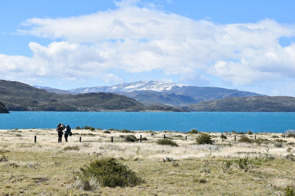 Patagonia, Torres Del Paine, National Park, Lake