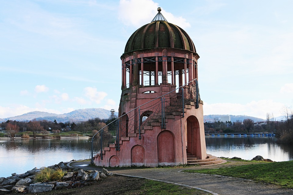Tower, Places Of Interest, Architecture, Brine, Lake