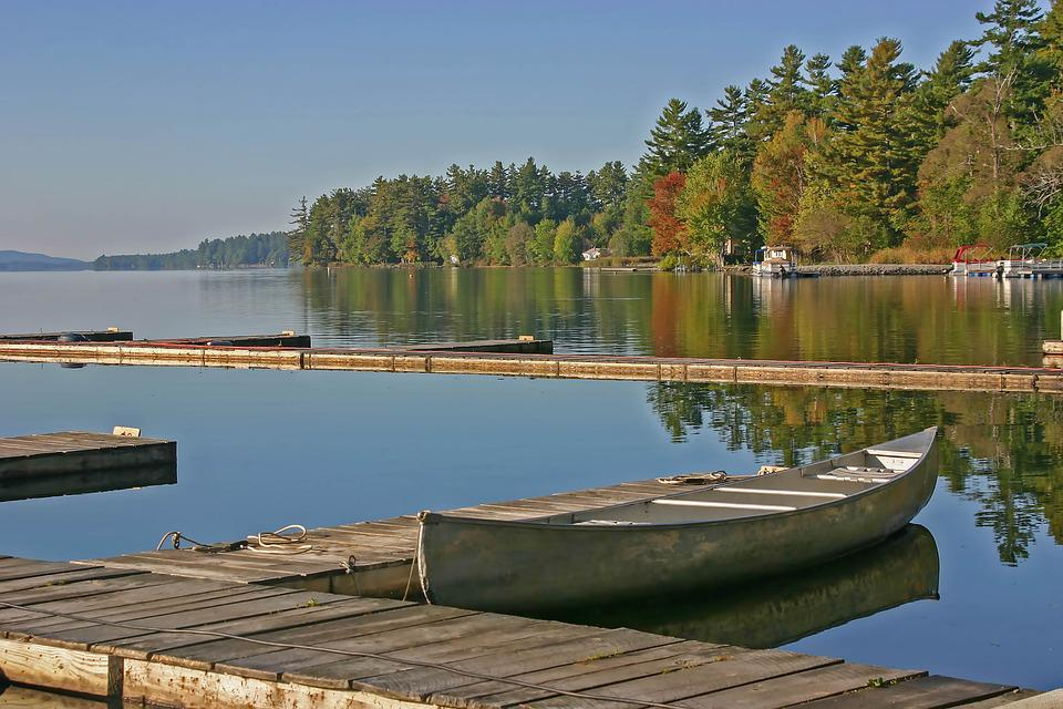 Waters, Lake, Reflection, Nature, River, Canoeing