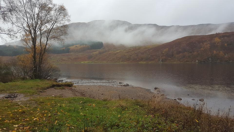 Scotland, Lake, Hole, Idyllic, United Kingdom, Romantic