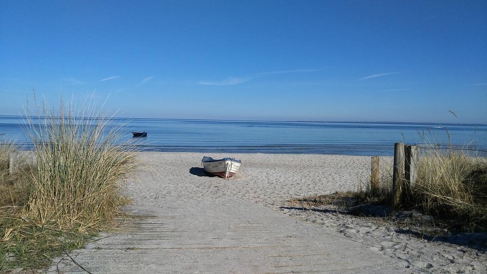 Scharbeutz, Lake, Beach, Landscape, Seaside Resort