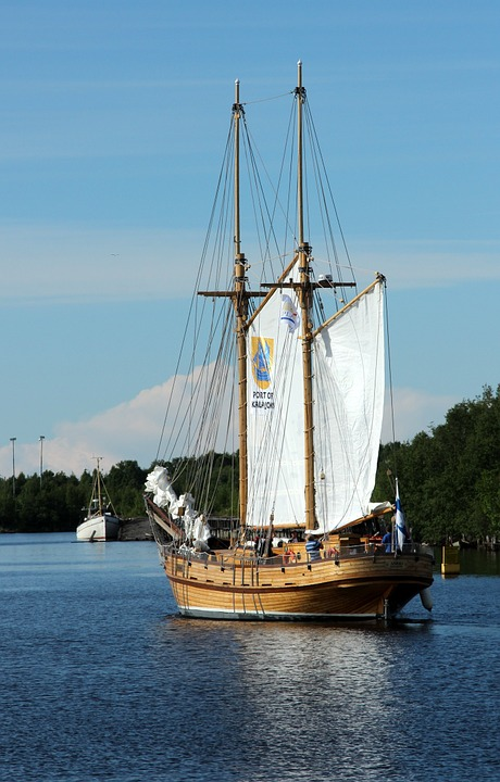 Ansio, Ship, Sailing, Maritime Festival, Water, Lake