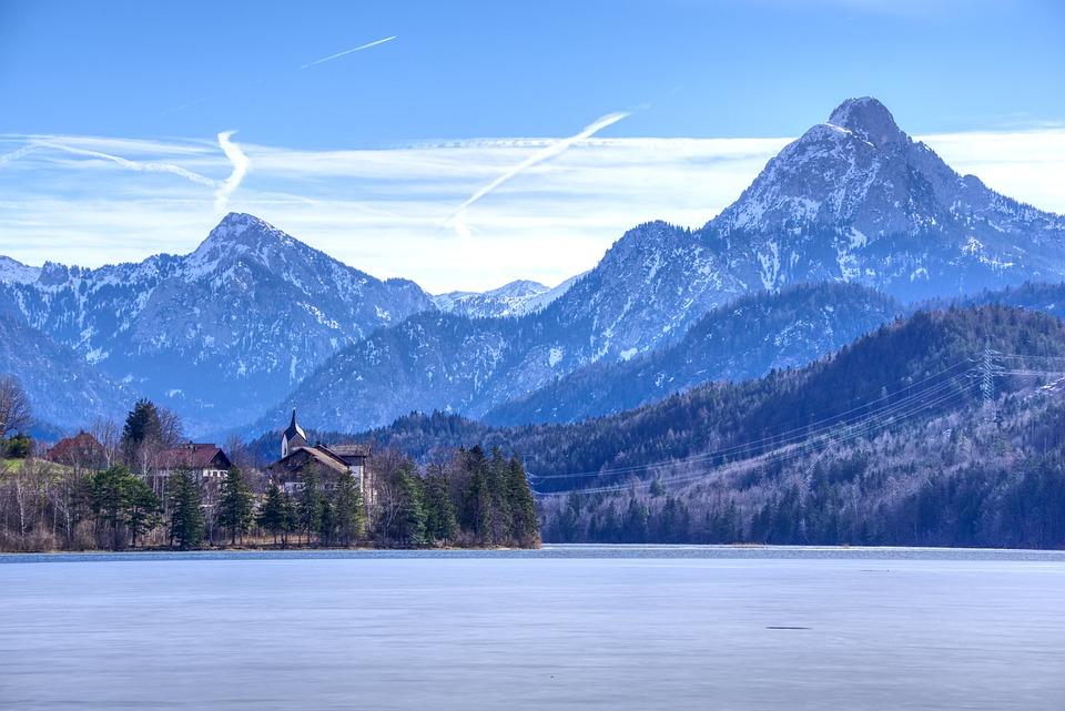 Alpine, Mountains, Mountain Range, Snow, Lake