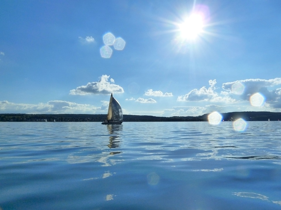 Lake Constance, Lake, Sunny, Sun, Summer, Peaceful