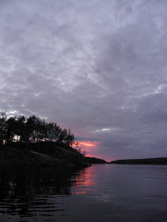 Finnish, Saimaa, Sunset, Savonlinna, Lake, Sky, Summer