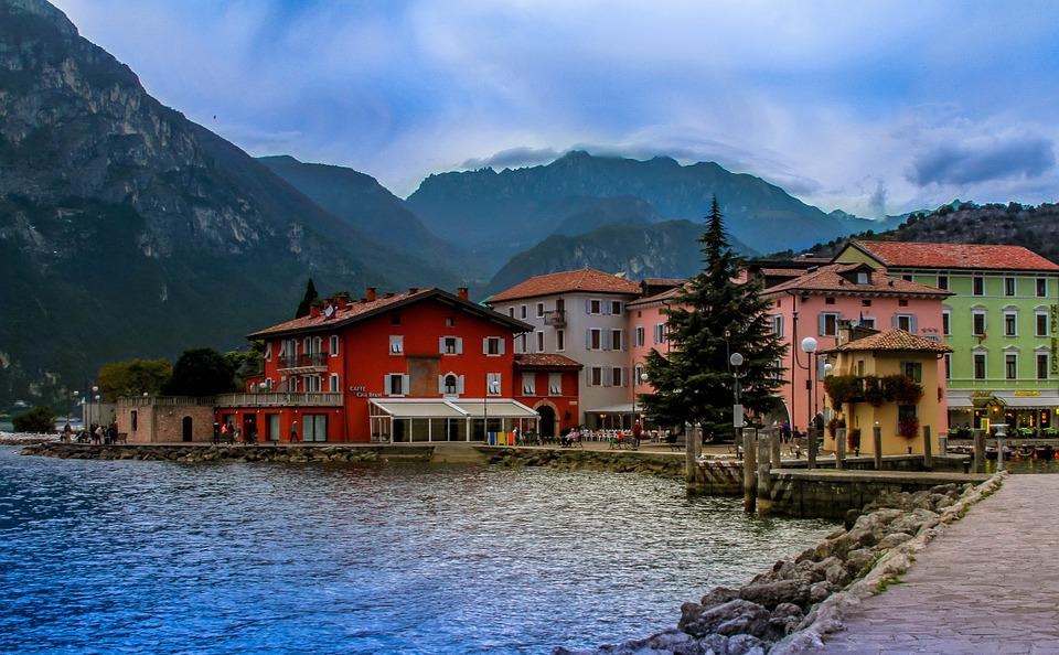 Lake, Italy, High, Vacation, Colors, Outdoor, Tranquil