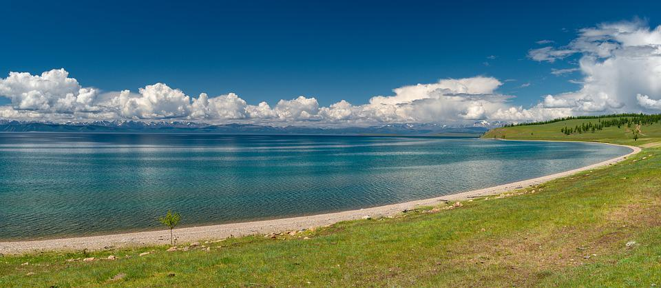 Landscape, Panorama, Lake, Sky, Cloud, Transparency