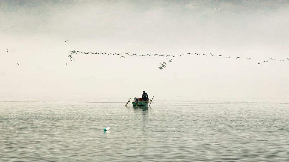 Boat, Lake, Landscape, Nature, Water, Calm, Travel