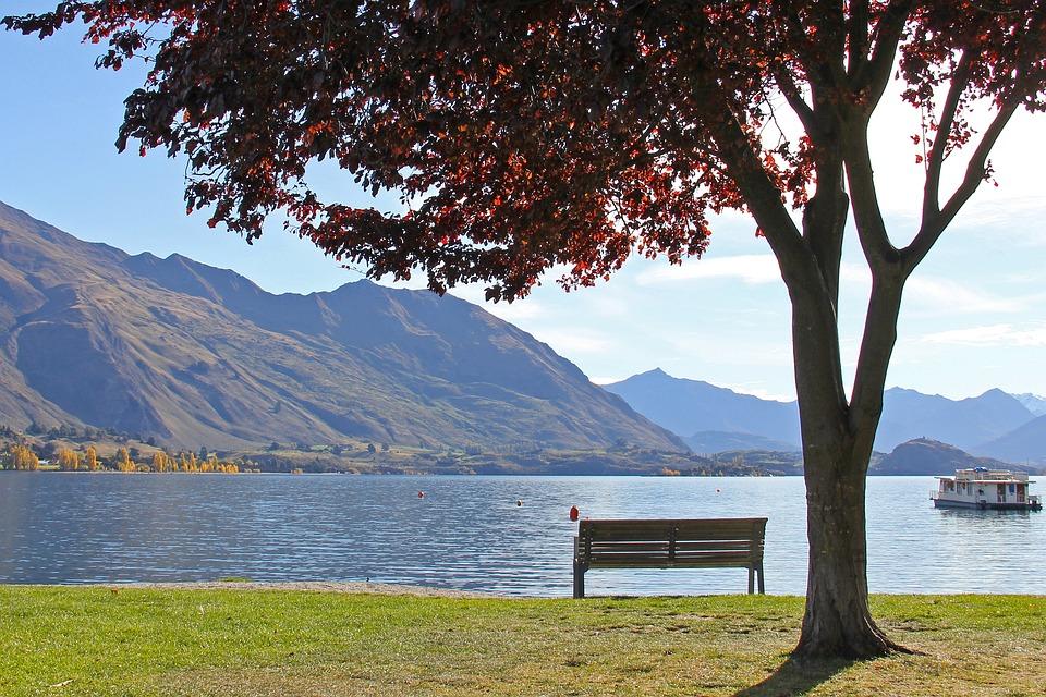 Beautiful, Lake, Blue, Enchanting, Beauty, Lake Wanaka
