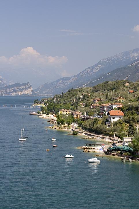 Lake, Garda, Water, Boats