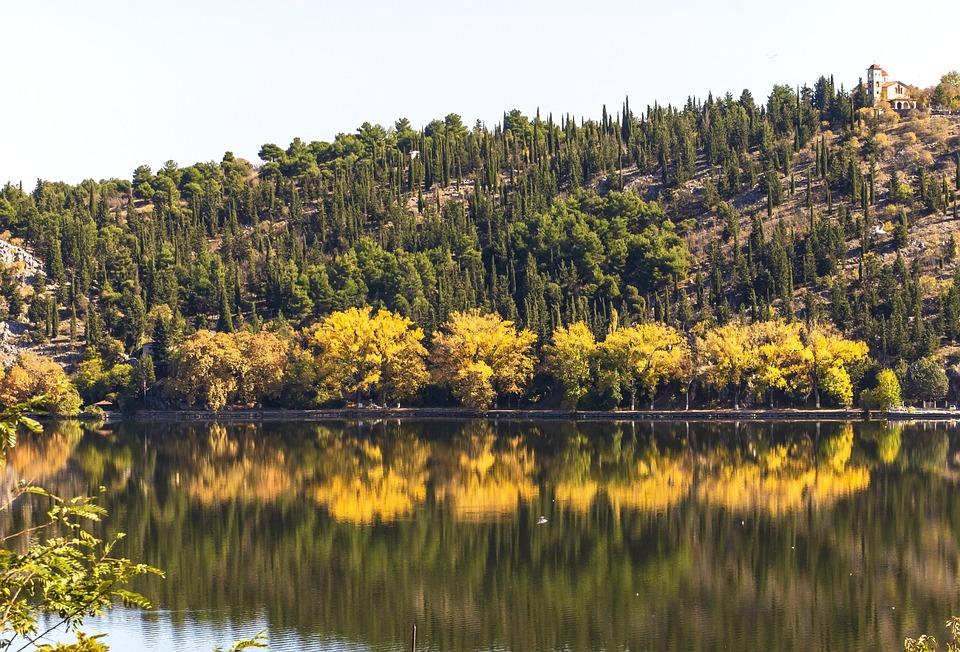 Lake, Trees, Water, Nature, Landscape, Reflection