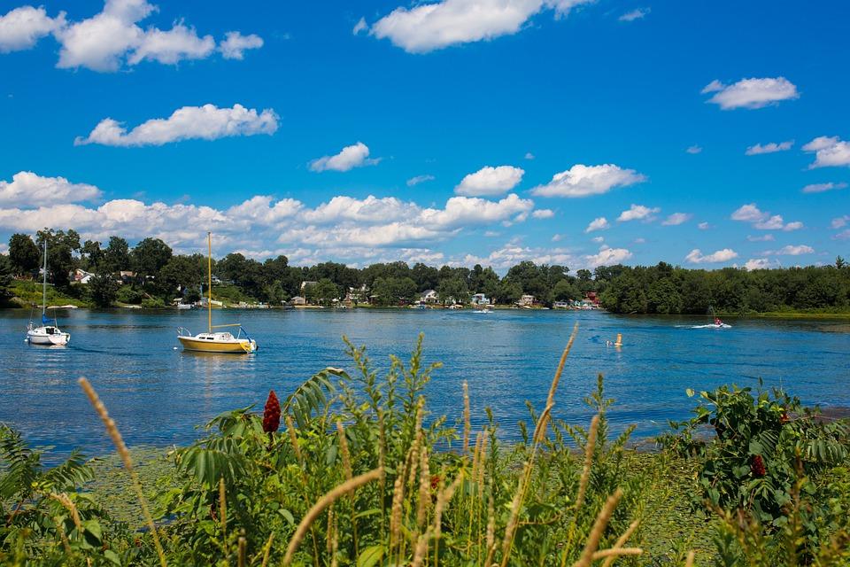 Lake, Boat, Summer, Water, Nature, Fishing, Sky