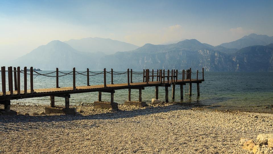 Garda, Italy, Holiday, Web, Lake, Riva, Port, Panorama