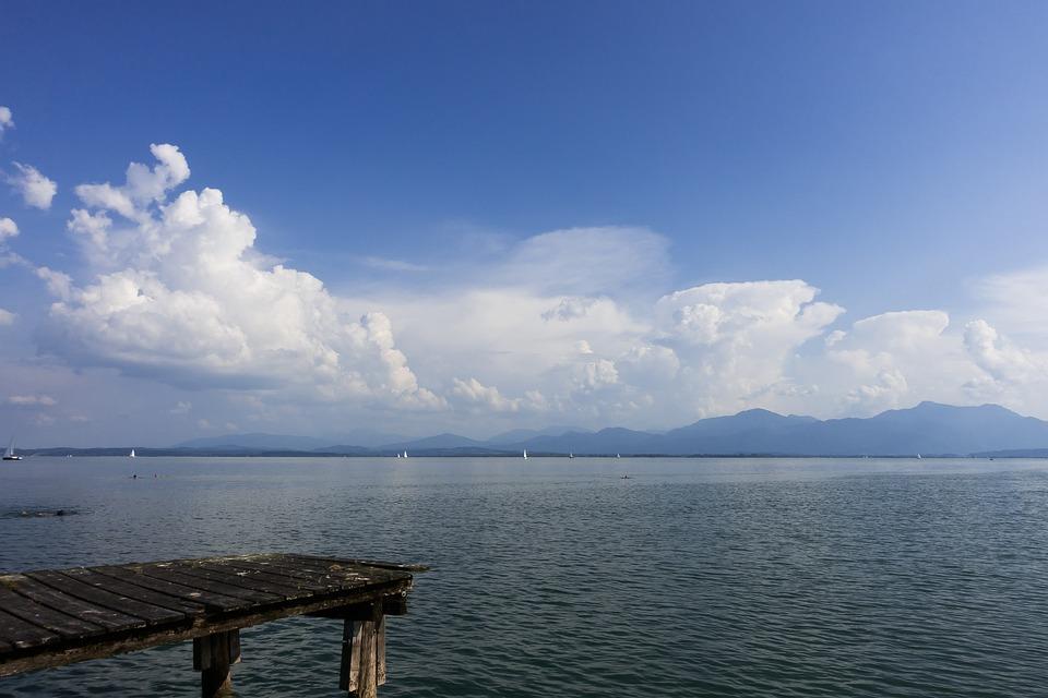 Lake, Swim, Sail, Sailing Boat, Web, Water, Landscape